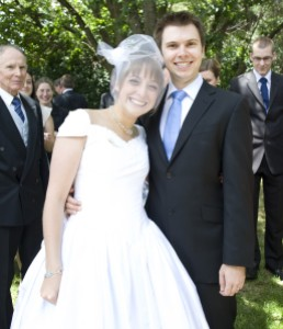On our Wedding Day Photo (c) M. Vovers, 2011