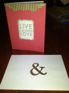 Wedding Card Photo (c) Megan S, November 2013