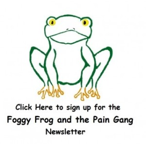 Foggy Frog Simple Logo