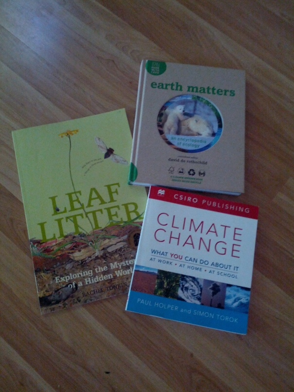 Examples of books I've taken to workshops and seminars in the past.