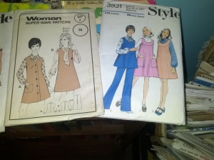 Patterns I've bought but not sewn yet