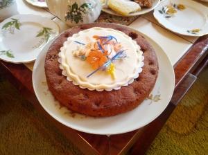Homemade Birthday Cake (Gluten and Dairy Free)