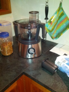 Set up as Food Processor...
