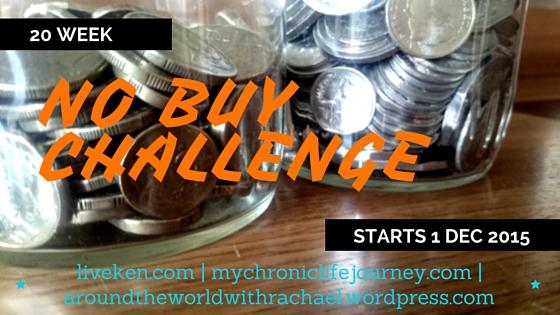 20 Week No Buy Challenge