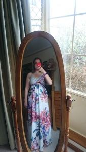 Maxi dress - crash day