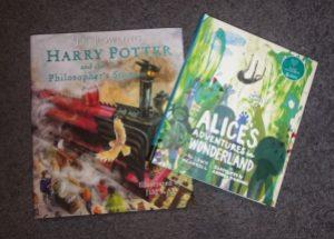 My birthday books